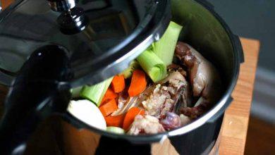 پخت مواد غذایی با زودپز پارس استیل